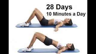 Amazing  7 Simple Exercises to Shape Your Body In Just 4 Weeks