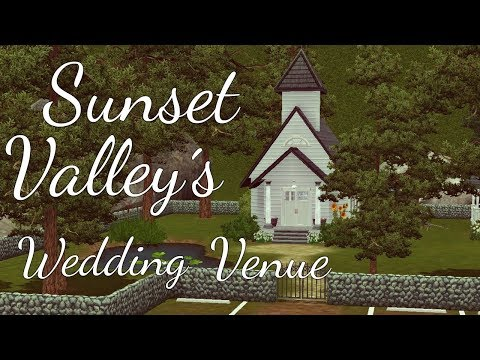 The Sims 3: Speed Build - Sunset Valley´s Wedding Venue