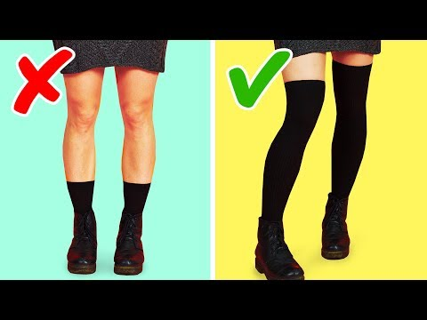 25 MUST-KNOW CLOTHING LIFE HACKS FOR GIRLS