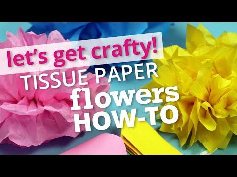 How to Make Tissue Paper Flowers | Nashville Wraps