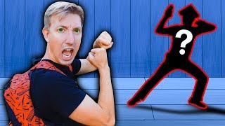 CWC vs HACKER in Real Life NINJA BATTLE ROYALE Exploring Secret Hidden Abandoned Backyard Challenge