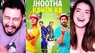 JHOOTHA KAHIN KA | Rishi K, Jimmy S,Sunny S,Omkar K | YoYo Honey Singh | Trailer Reaction!