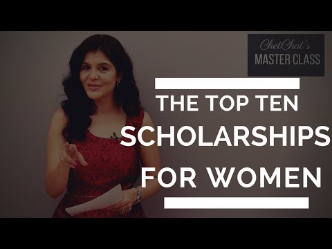 Top 10 International Scholarships for Women to Study Abroad I Scholarships for Indian Women ChetChat