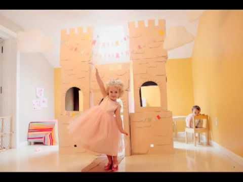 DIY-Cardboard Castle