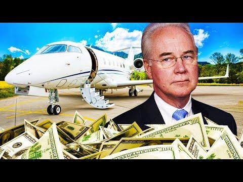 Tom Price's Private Jet Hypocrisy