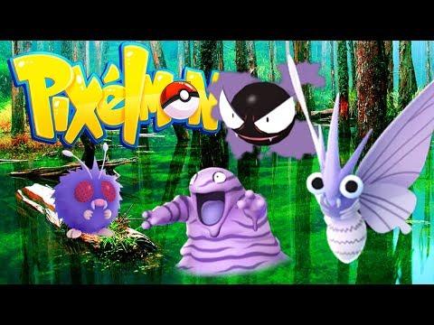 NEW SWAMP POKEMON!? (Minecraft Pokemon) Pixelmon #7