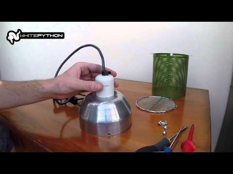 WhitePython Ceramic Heat Guard & Reflector Setup