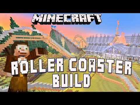 Minecraft: Completing The Roller Coaster Track Design  (Scarland Coaster Build Ep.25)