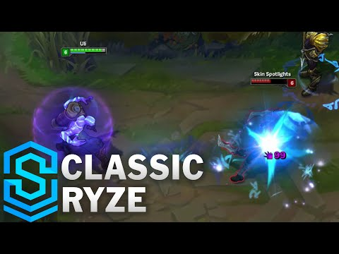 Classic Ryze, the Rune Mage (2016) - Ability Preview - League of Legends