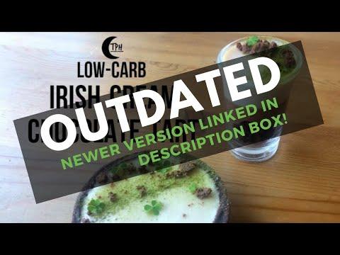 Keto Baileys Chocolate Tart | Low-Carb St. Patrick's Day No-Bake Irish Cream Dessert