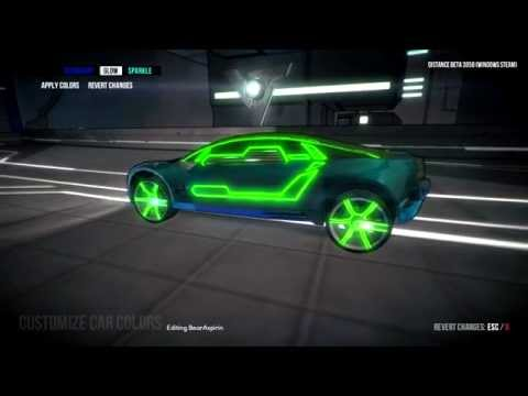 How to Change Your Car Color in the Distance Beta