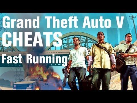GTA 5 Cheats - Fast Running