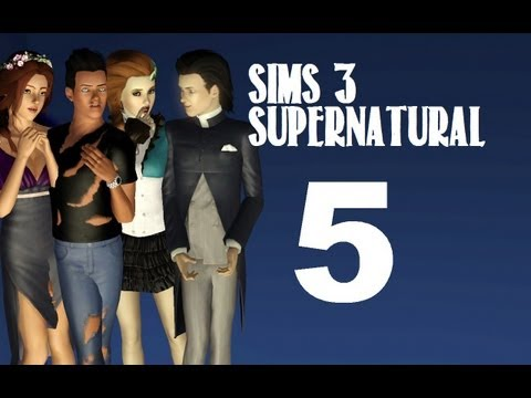 Let's Play: The Sims 3 Supernatural - (Part 5) - Blooming Garden w/Commentary