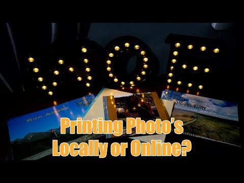 Printing Photos local or online