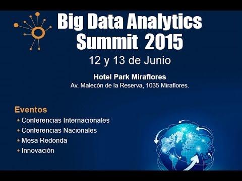 Big Data Analytics Summit 2015