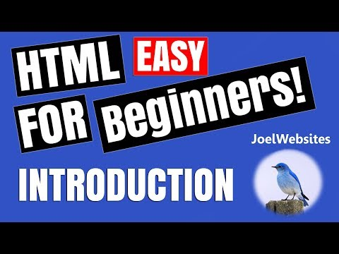 00 - HTML Tutorial for Beginners - Introduction to the Playlist!