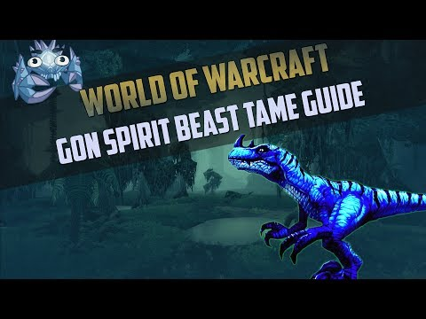Gon - Rare Hunter Spirit Beast Tame Guide - Where to get it and how!