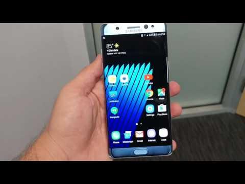 Samsung Galaxy Note 7 v2 Model Camera Crashing