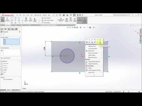 SOLIDWORKS 2017 Shaded Sketch Contours