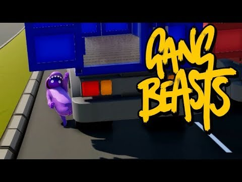 GANG BEASTS ONLINE - Rolling Down the Street [MELEE]