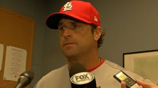 STL@BOS: Matheny discusses ump, tough loss to Red Sox