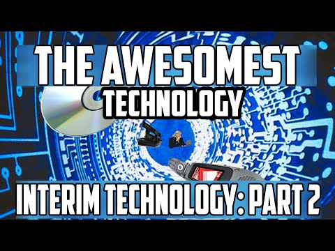 Awesomest Tech: Interim Technologies Part 2 (Zipdisk, MP3 CDs, Ringtones, Polaroid)