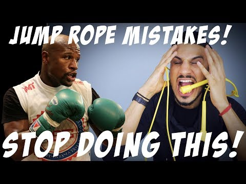 TOP 5 Jump Rope Mistakes!! A Guide to the MAYWEATHER Technique