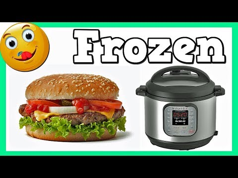 How To Make Frozen Hamburgers In A Pressure Cooker