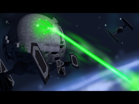 Minecraft Laboratory - HOW TO MAKE A WORKING DEATH STAR! (Minecraft Roleplay)