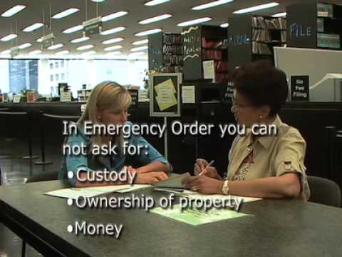 How to Get an Order of Protection