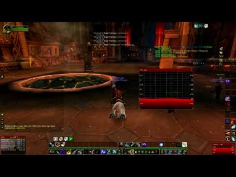 World of Warcraft: Windows 7 vs Linux/wine....FPS: Who wins? (No sound)