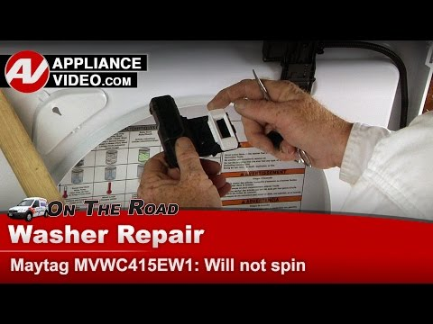Maytag, Whirlpool & Kenmore washer -  Will not go into spin cycle - Diagnostic & Repair