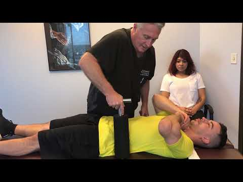 Chiropractic Adjustment For Mechanical Back Pain By Houston Chiropractor Dr Gregory Johnson