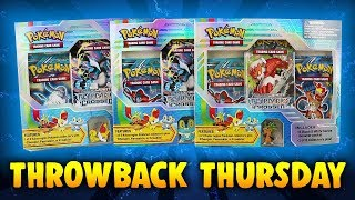 Pokemon Card Throwback Opening - Xy Starter Pin Blisters