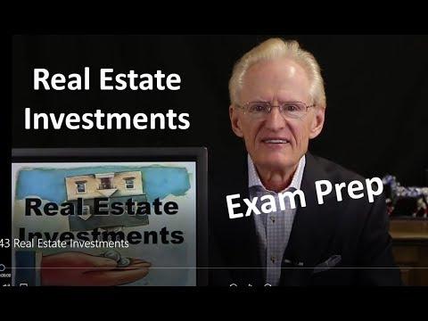 43 Investments & Income Tax: Arizona Real Estate License Exam Prep