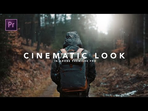 How to get the CINEMATIC LOOK in Premiere Pro