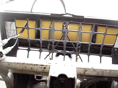 How To: Homemade Bobcat Skid Steer Meyers Plow