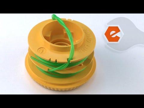 Trimmer Repair - Replacing the Reel & Line (Ryobi Part # 791-181460B)