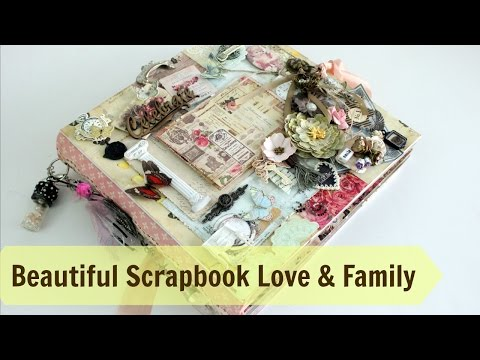 Ideas for  Beautiful Scrapbook on Family | Love   Must Watch | Aola DIY | Mallika Kejriwal