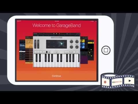 Getting Setup to Podcast with Garageband (iPad)
