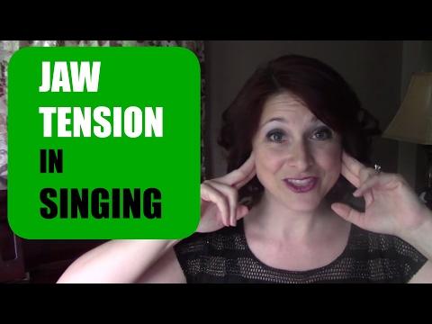 Managing JAW TENSION in Singing