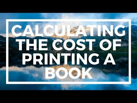 Whiteboard Wednesday - Calculating the cost of printing a book