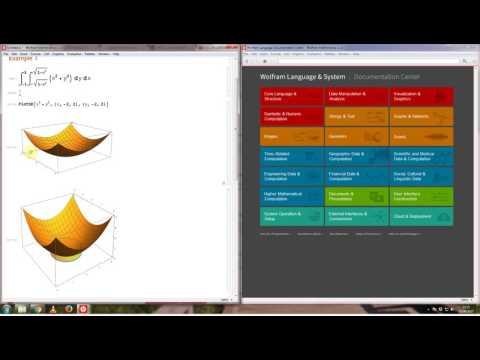 Mathematica - Plotting/Visualising a Double Integral