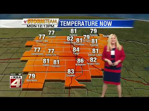 Weather Noon Update   May 28