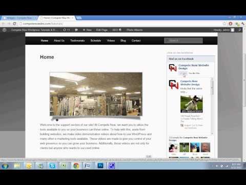 Facebook Like Box Widget WordPress Tutorial