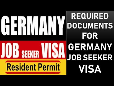 Documents Required  for Germany Job Seeker Visa