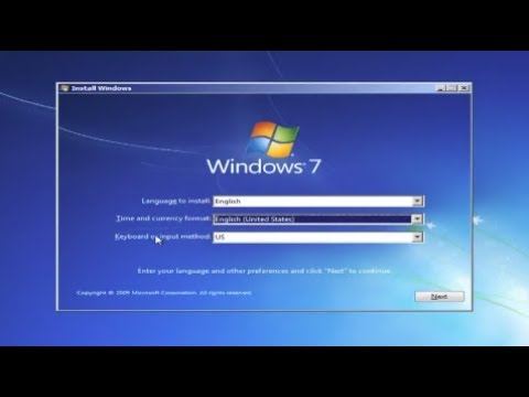 Windows 7 Formatting and Clean Installation [Tutorial]