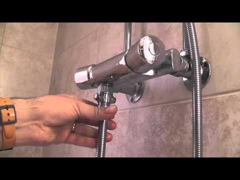 Shower Shut-Off valve Shower Flow Control Stop Valve Saving Water