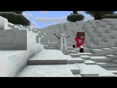 Minecraft: How to Make a Snowman