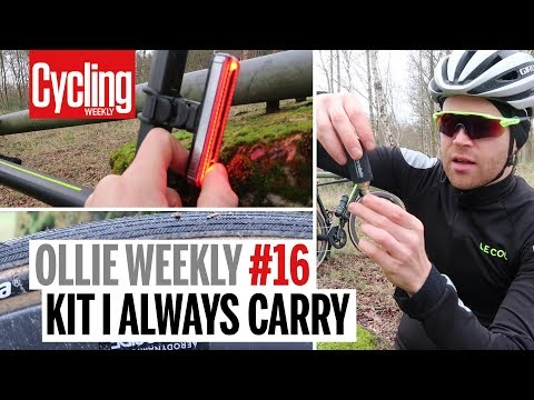 Kit I never leave the house without | Ollie Weekly #16 | Cycling Weekly